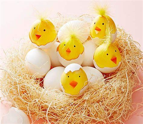 como decorar un huevo de pascua para niños ideas para decorar huevos de pascua etapa infantil