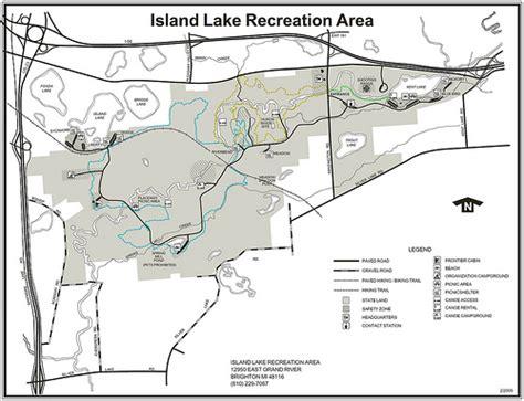 michigan dnr lake maps mi dnr island lake flickr photo