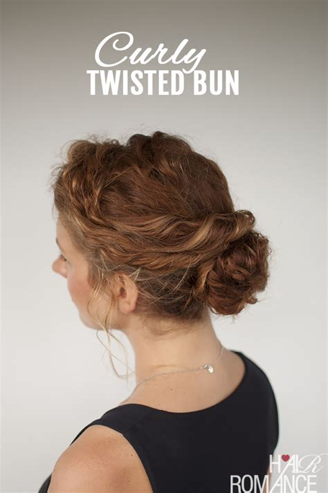 can u wear use hair up with a long non layered bob curly hair tutorial easy twisted bun hairstyle hair