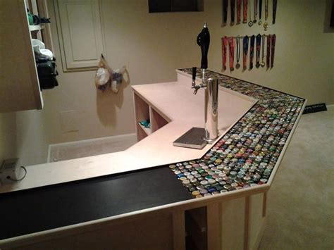 how to make a bottle cap bar top bottle cap bar top home brew forums for the home