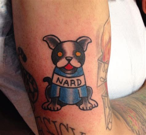 nard dog tattoo the office search