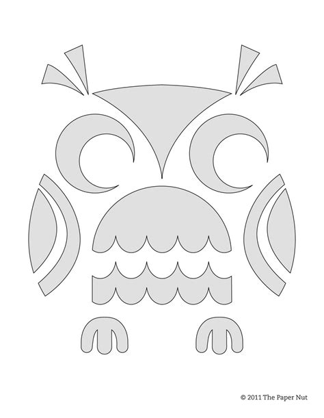 printable owl pumpkin carving patterns owl template newhairstylesformen2014 com