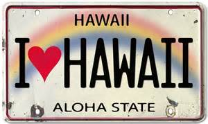 image hawaii license plate size 1024 x 614 type gif