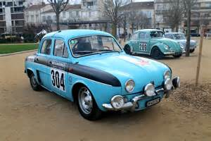 renault dauphine rally cars and a marque website