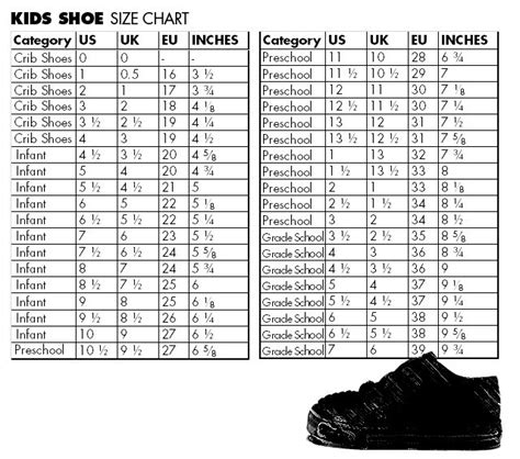 shoes international conversion chart shoes