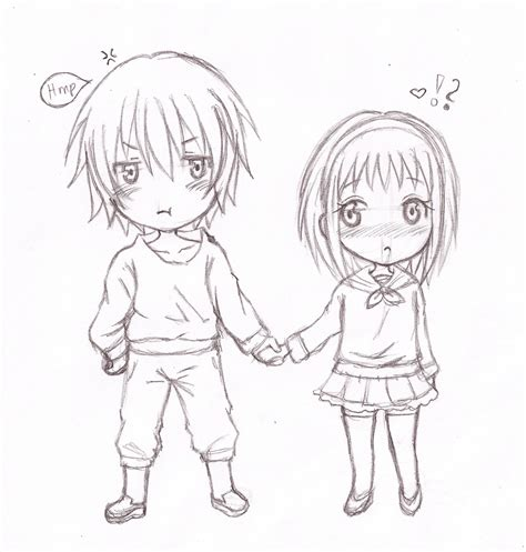 how to draw anime and drawing anime chibi pencil drawing