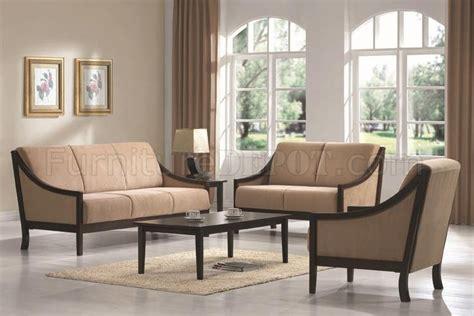 Sofa Minimalis Satu Set beige microfiber modern 3pc sofa loveseat chair set