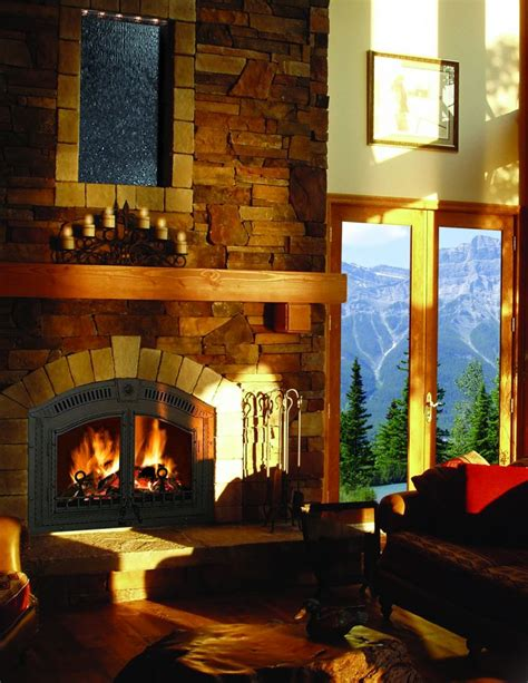 High Country Fireplace by Napoleon High Country Wood Fireplace Nz6000