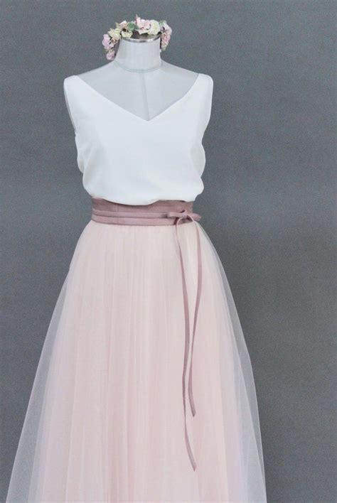 noni tuellrock zur hochzeit rosa wadenlang