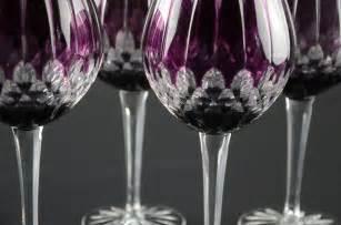Moser Crystal Vase Glassware Forest Metrics