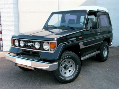 1986 Toyota Land Cruiser 1986 Toyota Land Cruiser Lj70 Turbo Diesel Bring A Trailer