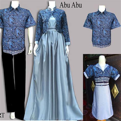 Gambar Baju Gamis Batik 24 Koleksi Gambar Baju Batik Gamis 2018 Terbaru Gambar