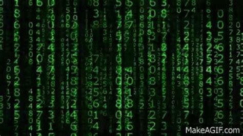 the matrix number falling code hd bacground on make a gif