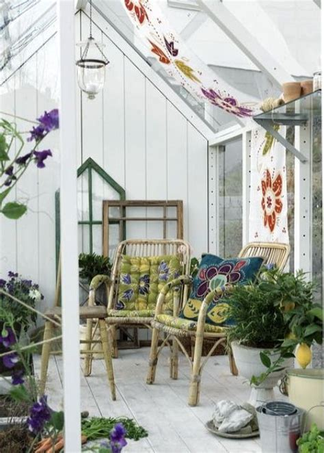 beautiful boho sunroom design ideas digsdigs