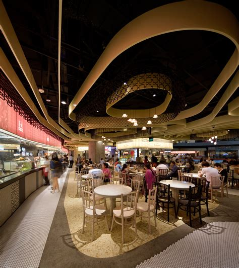 food court restaurant design rasapura masters food court by farm architecture
