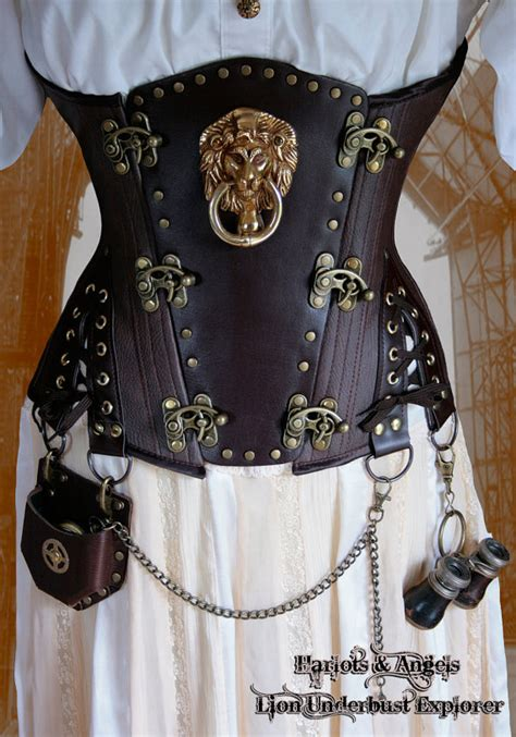 sewing pattern underbust corset steunk underbust corset sewing pattern by harlotsandangels