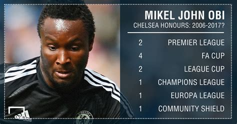 obi mikel could stalwart get chelsea farewell vs bournemouth goal