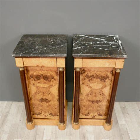 comodini stile impero coppia di tavoli comodini stile impero mobili