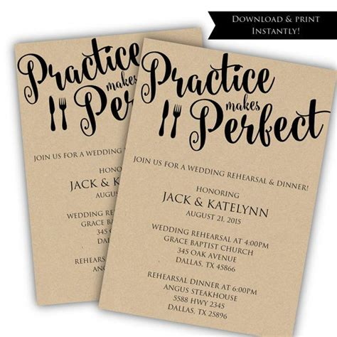 wedding rehearsal invitation template best 25 rehearsal dinners ideas on rehearsal