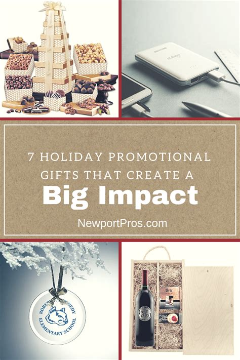 promodona 7 holiday promotional gifts that create a big