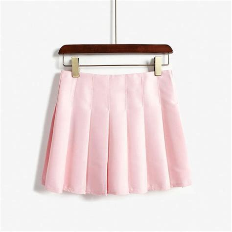 pleated pastel skirt 3 colors kogiketsu