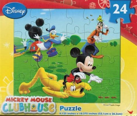 Puzzle Mickey Mouse Club disney mickey mouse jigsaw puzzles