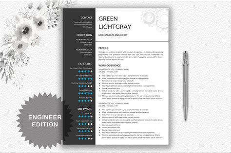 Creative Engineering Resume Template