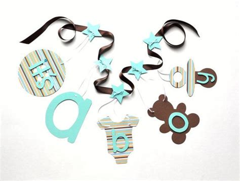 Baby Blue And Brown Baby Shower Decorations by Blue Yellow And Brown Baby Shower Decorations It S A Boy