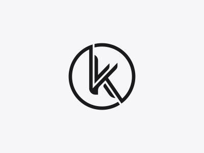 K Logo Mark Design by Dalius Stuoka - Dribbble K Logo Design