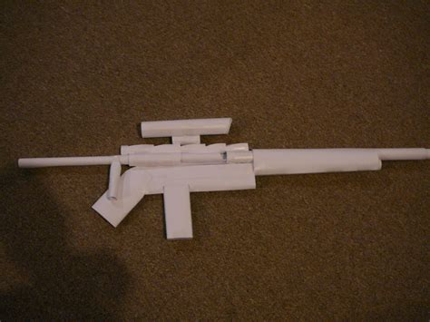 How Make A Paper Gun - paper gun sniper rifle
