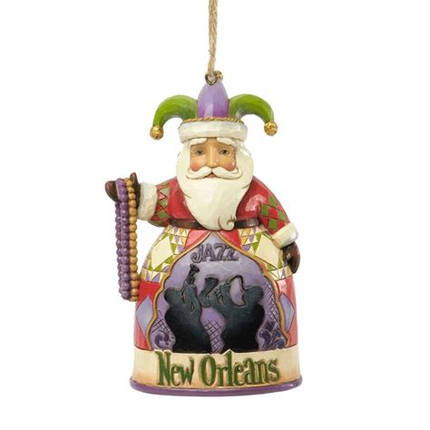 new orleans santa ornament fitzula s gift shop