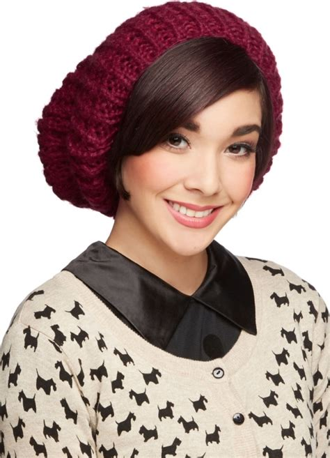 Toybox Rocks Our Jewellery Photoshoot Pt4 by Modcloth Beignet Or Nay Hat In Cranberry 7 Striking