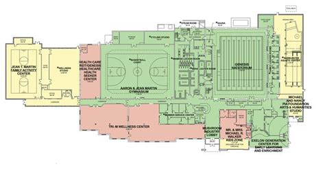 ymca floor plan ymca of brandywine valley wellness center pinterest