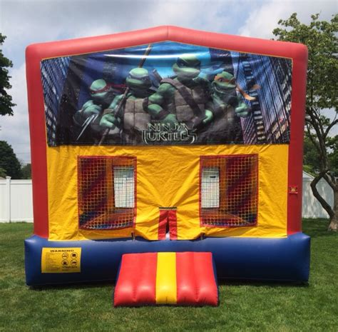 teenage mutant ninja turtles house bounce house
