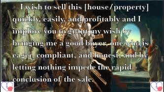prayer to joseph for selling a house