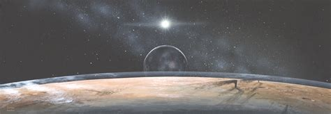 The View From Pluto by Apod 2001 October 18 Pluto New Horizons