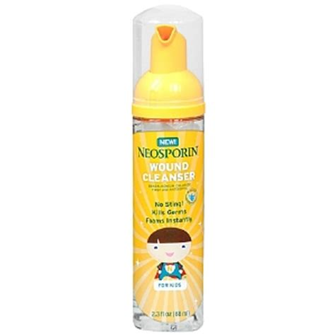 wound care neosporin neosporin wound cleanser for drugstore