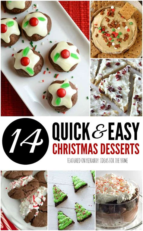 easy dessert recipes 14 christmas potluck ideas