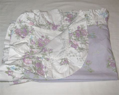 one simply shabby chic king sham lavender rose floral