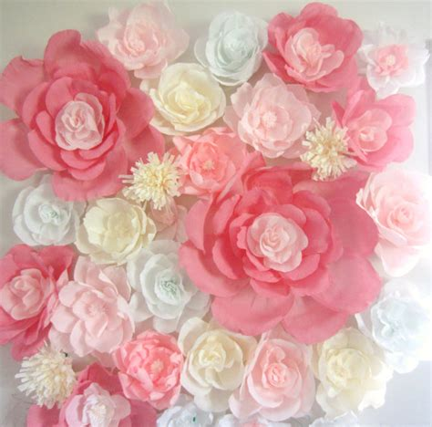 Www Paper Flowers - paper flower wall display 4ft x 4ft wedding backdrop