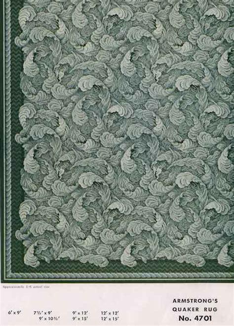 linoleum rugs  armstrong  retro renovation
