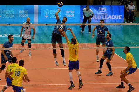 imagenes inspiradoras de voleibol hist 243 rico triunfo de argentina sobre brasil en la liga
