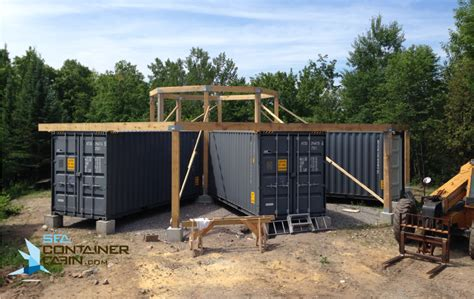 shipping container cottage construction archives sea container cabin
