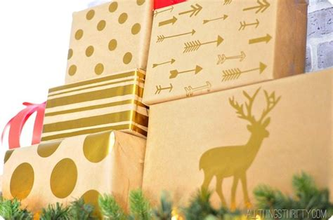 How To Make Your Own Wrapping Paper - make your own wrapping paper