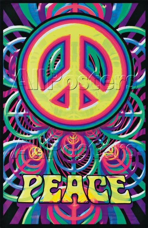 1970 black light posters peace images peace out hd wallpaper and background photos