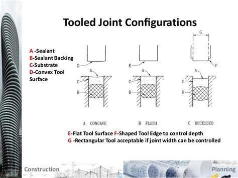 Sealants   Engineering Sealant Joints by Design