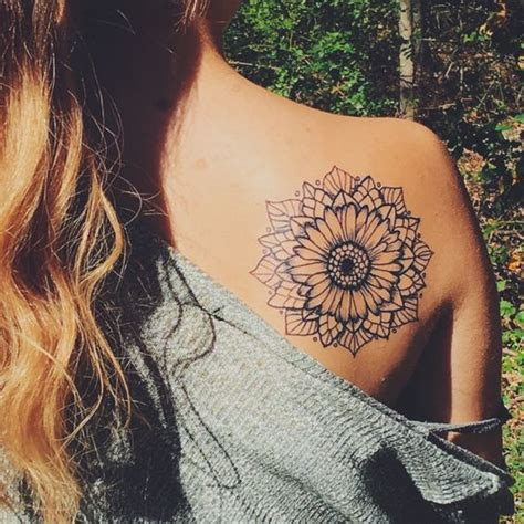 18 stunning sunflower tattoo for women awesome tat