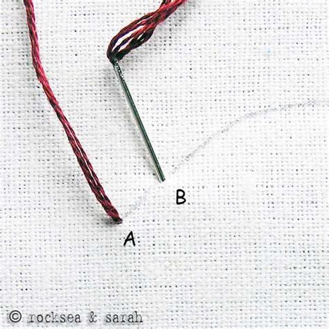 how to do couching back stitch 187 sarah s hand embroidery tutorials