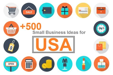 Small Business Ideas From Home Usa 500 Innovative Small Business Ideas Opportunities For