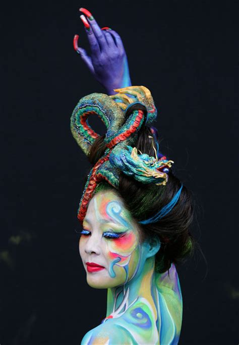 world bodypainting festival themes painting show world painting festival asia part 1
